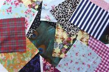 Samples, Scraps Floral 100% Cotton Craft Fabric Remnants