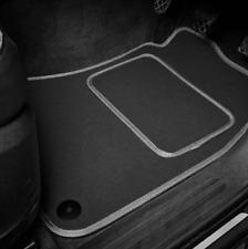 Quality Car Floor Mats Set In Black/Grey - Mercedes-Benz A-Class (2012 on)