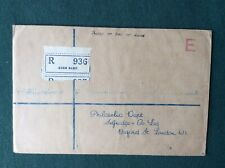 Aden 1937 : Registered Selfridges First Day Cover, with 3as, 3 1/2 as and 8as