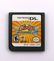 Kirby Squeak Squad Super Star Ultra Nintendo DS Game Cards DS DSi 3DS XL a F01