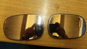Ford KA Door Mirror Glass Genuine Pair