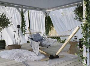 Wooden hammock frame, hammock, garden hammock, Beech Wood , Impregnated