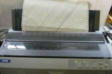 Epson FX 2190 USB Parallel 9 Pin Wide Format Dot Matrix Printer 7 day Warranty