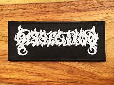 Dissection Sew Iron On Patch Embroider Rock Band Heavy Extreme Metal Logo