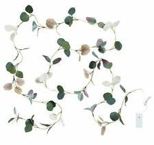 NEW IKEA HOSTPROMENAD String Light LED Fairy Wedding Table Decor Eucalyptus Leaf