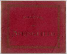 Souvenir of SPRINGFIELD.  Lyman H. Nelson CO. Portland ME. c.1890  (BI#51)