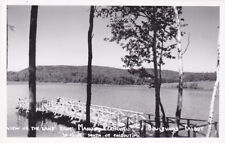 RP, View Of The Lake, Manoir Clairval, CHICOUTIMI, Quebec, 30-40s