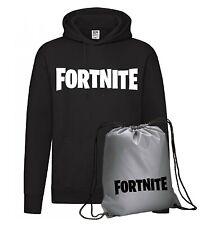 Felpa Fortnite in cotone + Sacca silver Logo -Fortnite-  online videogamers gift