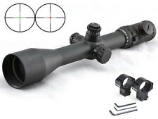 Visionking 6-25X56 Mil dot Long Range Rifle scope 35mm 50 Cal 11 dovetail target