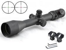 Visionking 6-25X56 Mil-dot Long Range Rifle scope 35 m .50 Cal 11 dovetail Rings