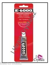 E6000 Glue Rhinestone Crystal Craft Jewelry Gem Multi Use Adhesive .5 oz E-6000