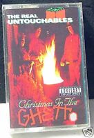 The Real Untouchables Christmas In The Ghetto 4 track 1992 CASSETTE TAPE NEW!