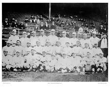 """11""""x14"""" B/W PHOTO: 1916 BOSTON BASEBALL RED SOX TEAM PHOTOGRAPH, w BABE RUTH"""