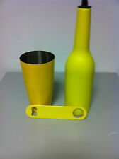 Flair bottle , apribottiglie colorati   giallo   Attrezzatura Barman Bartender