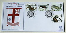 PONDLIFE FDC 2001 90TH ANNIVERSARY ROTARY CLUB OF LONDON  HANDSTAMP