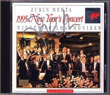 Zubin MEHTA Signiert 1995 Neujahrskonzert aus Wien CD New Year's Concert Vienna