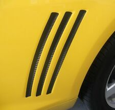 Camaro Gill Accents - Left & Right Precut 3M Carbon Fiber 1080 series vinyl. DIY