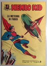 Albi del Falco NEMBO KID n.1 originale 1954 - Mondadori - MAGAZZINO
