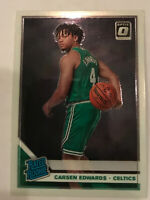 2019-20 Donruss Optic Carsen Edwards Rc Rated Rookie Boston Celtics #196