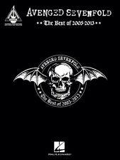 Avenged Sevenfold The Best of 2005-2013 Sheet Music Guitar Tablature 000214869