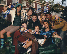 GREEK AUTOGRAPHED PHOTO SIGNED 8X10 #1 AUTOS OF 8 PEOPLE TOOK 4 YEARS TO FINISH