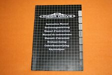 Sega Mega Drive Konsole Beschreibung Manual