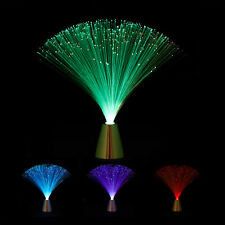 Glasfaserlampe mit Farbwechsel Retrolampe Stimmungslicht Effektleuchte Dekolampe