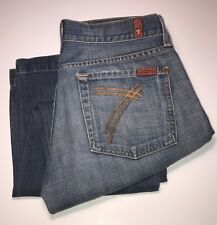 SEVENS 7 For All Mankind DOJO Flare Denim Jeans U121B019U-019U 700466 28X26