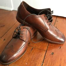 FLORSHEIM CASTELLANO OXFORDS MEN'SHOES (SADDLE TAN) LFT sz12, RGT sz11