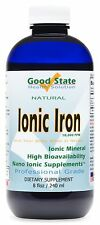 Good State - Liquid Ionic Iron - (48 servings at 10mg) (8 fl oz)