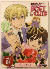 OURAN HIGH SCHOOL HOST CLUB - Season 1 Part 1 - MINT NEW SEALED DVDS!! OOP
