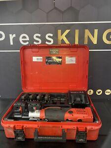 ⚡️Novopress Geberit Aco202 Mapress Kit 18V Battery Xpress Press Tool Crimp ⚡️