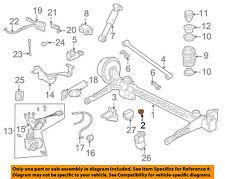 GM OEM Rear Suspension-Axle Beam Bushing 15829134