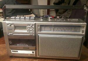 Vintage 1980's Philips Radio Cassette Recorder Player