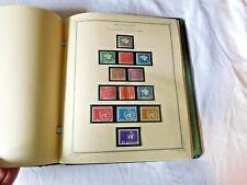 Vintage Scott Collector Album SWITZERLAND STAMPS Binder Book Collection Lot