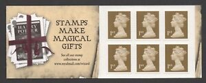 GB 2007 HARRY POTTER STAMP BOOKLET (6 X 1st CLASS)