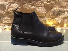 Women's Ankle Boots Leather shoe size 38