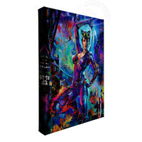 Blend Cota Catwoman 11 x 14 Gallery Wrapped Canvas DC Art