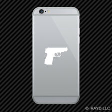 (2x) Makarov Cell Phone Sticker Mobile pistol hand gun 2a rights many colors