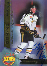 1994 SIGNATURE ROOKIES STEPHANE ROY /7750 AUTOGRAPH HOCKEY CARD