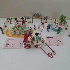 Playmobil Victorian Wedding Reception & Carriage No Horses 5339 5601 Vintage