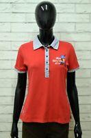 Polo MARINA MILITARE Donna Taglia M Maglia Maglietta Camicia Shirt Woman Rosso