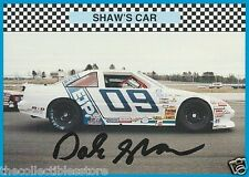 DALE SHAW AUTOGRAPHED SIGNED 1992 WINNERS CHOICE RACE PHOTO TRADING CARD #23