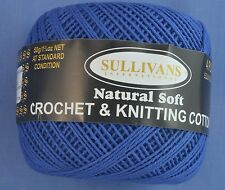 Sapphire 4 ply Crochet or Knitting Cotton
