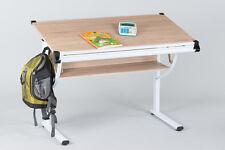 Kinderschreibtisch 101 Schreibtisch Hausaufgabentisch Kinderzimmer Eiche Sonoma