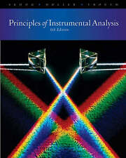 Principles of Instrumental Analysis 6th Ed by HOLLER, CROUCH, SKOOG Hardcover