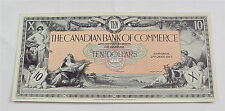 Canada Canadian Bank of Commerce $10 Dollars 1917 Face Proof Tint