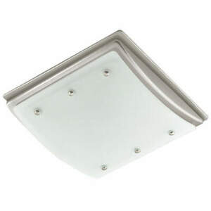 "HUNTER HOME COMFORT 90064 Bathroom Fan,Duct 4"" Dia.,1 Phase"