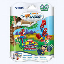 Nuovo Vtech Vsmile Vmotion Tv Imparare Smartridge Spider Man & Amici