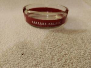 CAESARS PALACE GLASS ASHTRAY